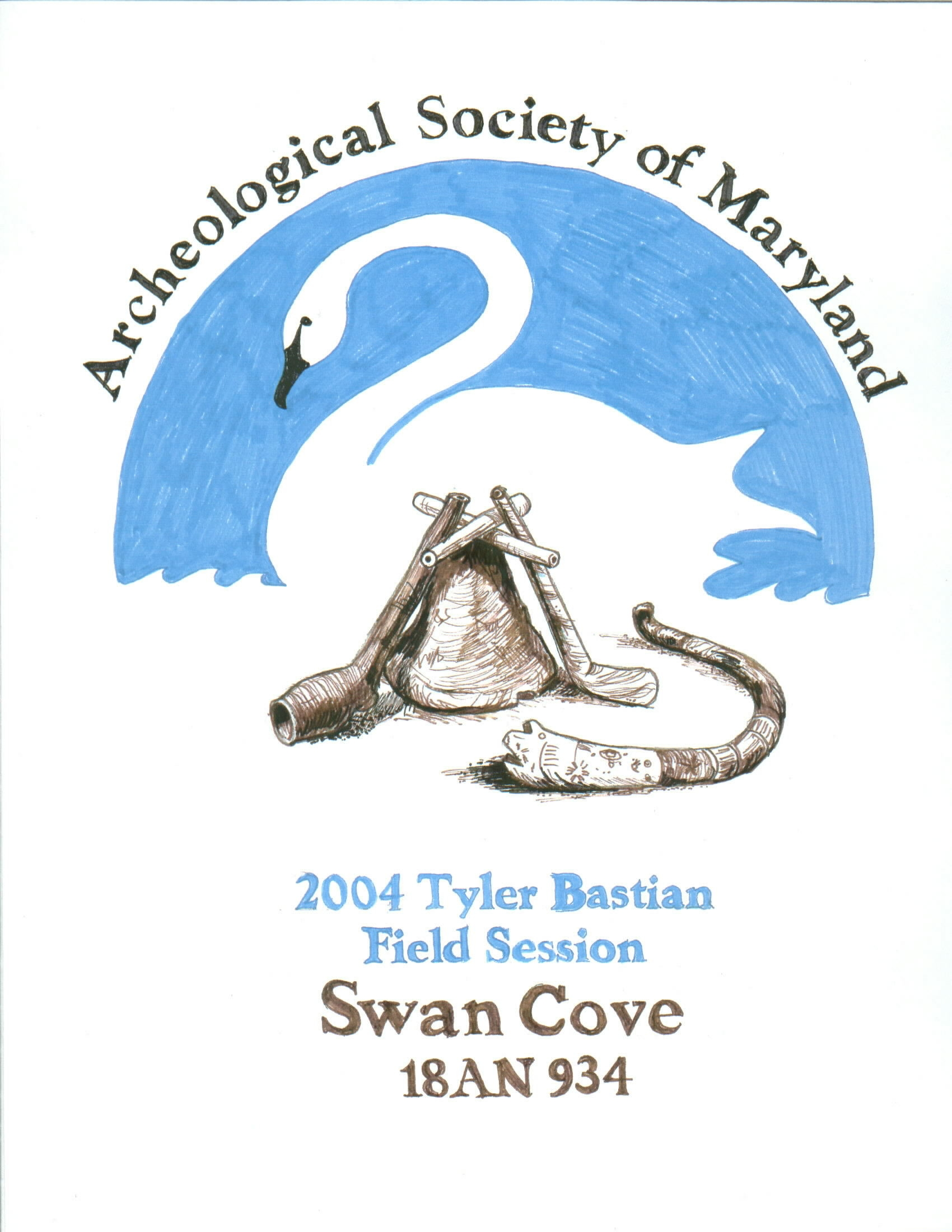 The 2004 Session was held at Swan Cove (18AN934) in Anne Arundel County.