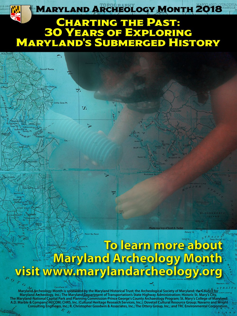 2018 Maryland Archeology Month Poster